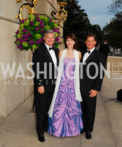 Mark Lowham.Pamela Hughes,Joe Ruzzo,LUNGevity Gala,September 16.2011,Kyle Samperton
