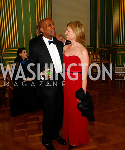 Andre Spearman,Lorraine Wallace,LUNGevity Gala,September 16.2011,Kyle Samperton