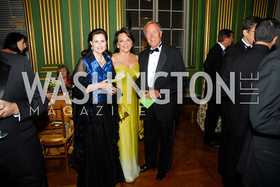 Alexandra deBorchgrave,Grace Bender,Mike Oxley,LUNGevity Gala,September 16.2011,Kyle Samperton