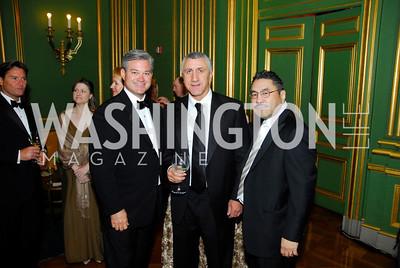 Mark Lowham,Seyfeddin Roustmov,Bob Hisaoka,LUNGevity Gala,September 16.2011,Kyle Samperton