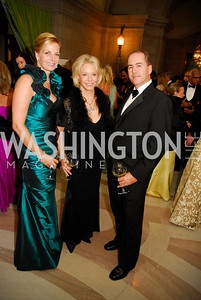 Lisa Gordon Haggerty,Mary Ourisman,Walter HoustonLUNGevity Gala,September 16.2011,Kyle Samperton
