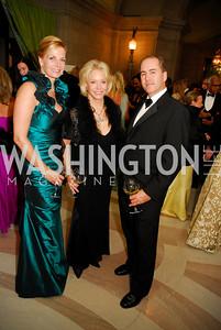 Lisa Gordon Haggerty,Mary Ourisman,Walter HoustonLUNGevity Gala,September 16.2011,Kyle Samperton