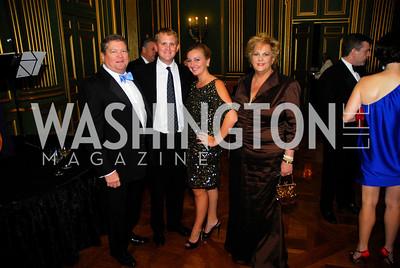 Tom Slagle,Theo SlagleWendy McKillop,Matha Slagle,LUNGevity Gala,September 16.2011,Kyle Samperton