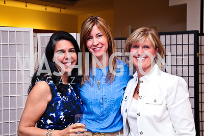 Alissa Winkler, Ann Kane, Kristin Bonacci. Photo by Tony Powell. LUNGevity Luncheon. Saks Jandel. April 29, 2011
