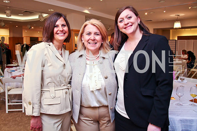 Cathy Weisbrodt, Beth Westbrook Starnes, Anna Pugh. Photo by Tony Powell. LUNGevity Luncheon. Saks Jandel. April 29, 2011