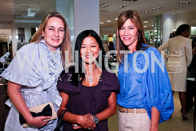 Anne Davis, Rachel Ahmed, Ann Kane. Photo by Tony Powell. LUNGevity Luncheon. Saks Jandel. April 29, 2011