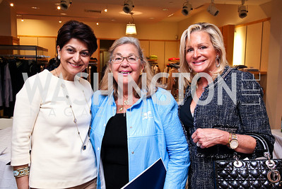 Shamim Jawad, Esther Coopersmith, Deborah Sigmund. Photo by Tony Powell. LUNGevity Luncheon. Saks Jandel. April 29, 2011