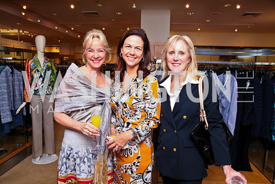 Caroline Boutte, Kim Nettles, Laurie Monahan. Photo by Tony Powell. LUNGevity Luncheon. Saks Jandel. April 29, 2011