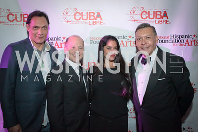 Jimmy Smits. La Gran Desvelada. Noche de Gala after party. Cuba Libre. Photo by Alfredo Flores