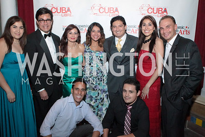 Noche de Gala after party. Cuba Libre. Photo by Alfredo Flores. September 13, 2011