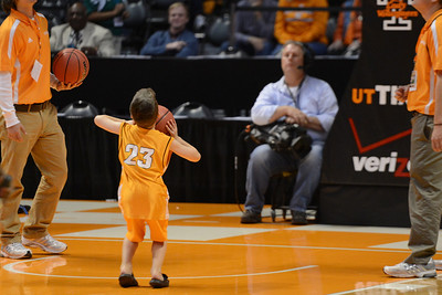 Knoxville, TN - November 25, 2012: during the game between Alcorn State Lady Braves and the Tennessee Lady Volunteers at Thompson-Boling Arena in Knoxville, TN. Photo By Donald Page/Tennessee Athletics