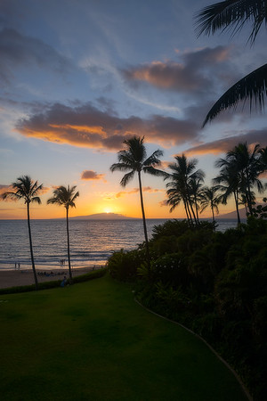 Sunset from the Room on Maui