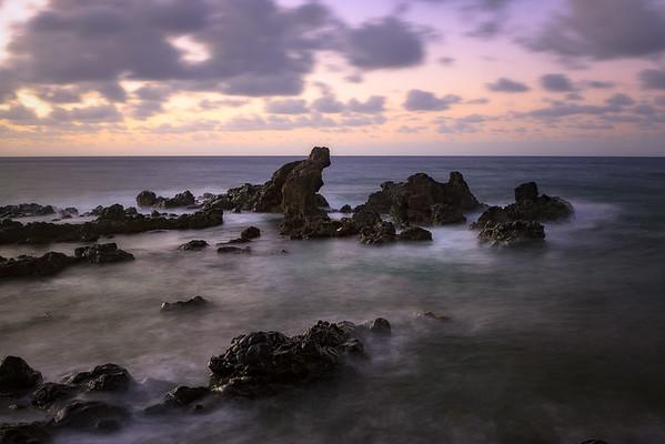 Rocks Near Ho'okipa Lookout