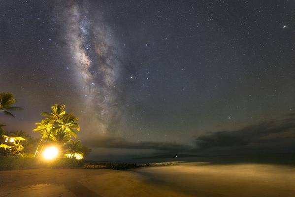 A Night on Polo Beach
