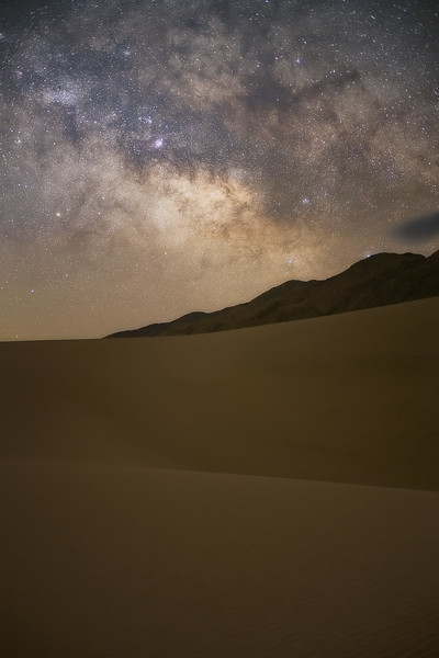 Milky Way over the Sand Dunes 50 mm