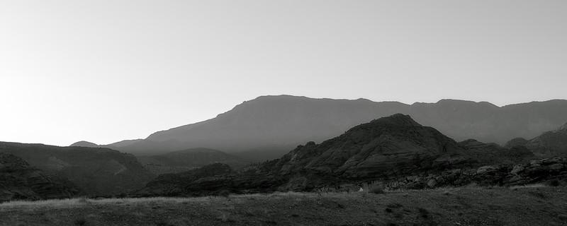 Southern Utah Hazy Sunset