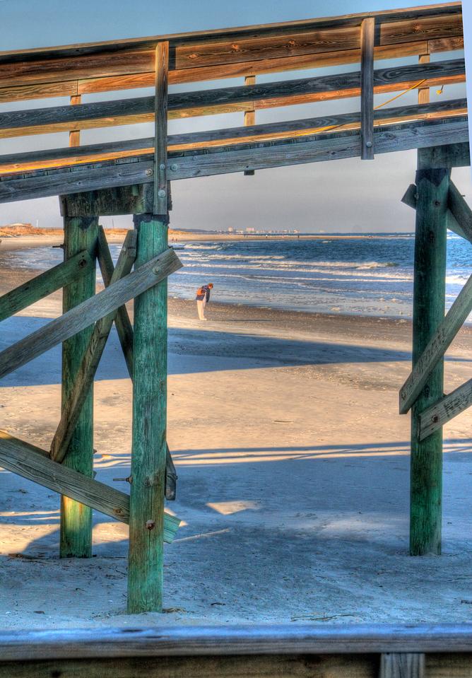 Through the Boardwalk