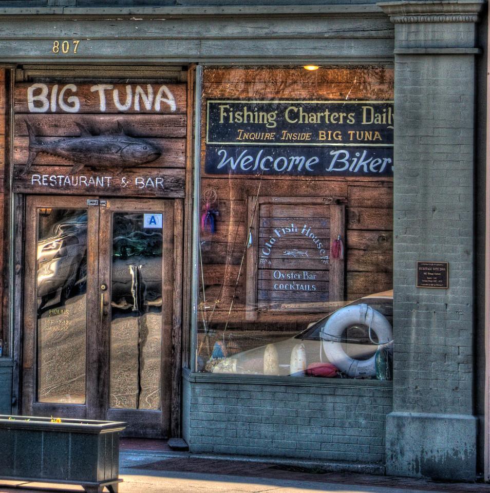 The street side of Big Tuna