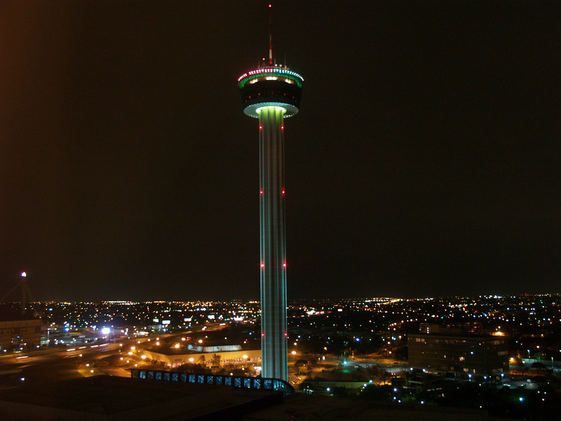 Tower of the Americas, San Antonoio, Texas