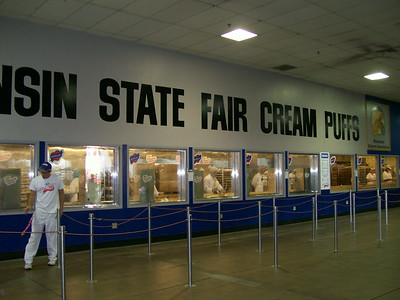 The Cream Puff - the State Food.  The orange cone during construction - the State Flower.