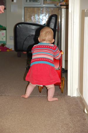 first steps with pram