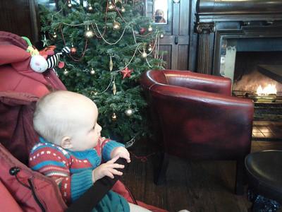 Liri's First Christmas 2012