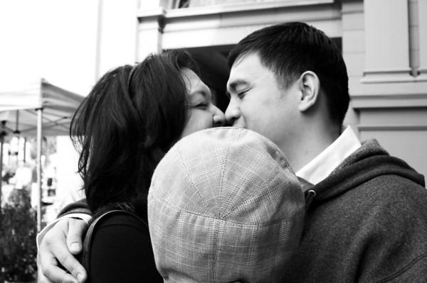 lisa + tony | san francisco engagement