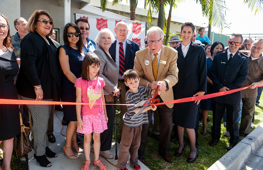 . The Salvation Army opens its Hospitality House, a women and children emergency shelter at 7926 Pickering Ave. in Whittier on Wednesday April 12, 2017. The shelter is opened in partnership with The Whole Child, Imagine Whittier and the Whittier Consortium. (Photo by Keith Durflinger/Whittier Daily News/SCNG)