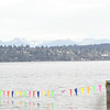 Cascade Mountains over Lake Washington