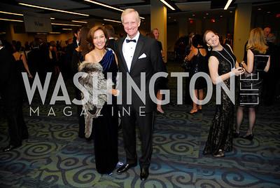 Michelle Evans, Jack Evans, Lombardi Gala, November 5, 2011, Kyle Samperton