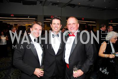 Dan Miller, Dan Herlihy, Michael Bennett, Lombardi Gala, November 5, 2011, Kyle Samperton