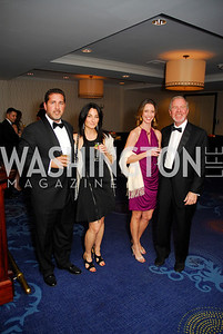Brian Katz, Amy Katz, Marybeth DeLuca, Paul Schweitzer, Lombardi Gala, November 5, 2011, Kyle Samperton