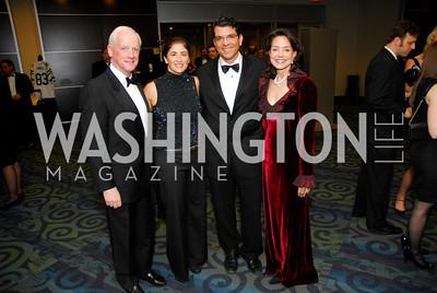 Frank Keating, Stephanie Grumet, Jason Grumet, Cathy Keating, Lombardi Gala, November 5, 2011, Kyle Samperton