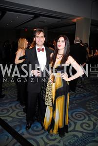 Peter Berk, Nathalie Beryl, Lombardi Gala, November 5, 2011, Kyle Samperton