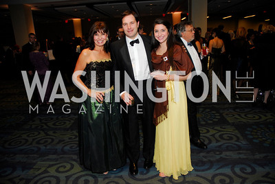 Molly Decker, Mark Decker, Kelly Decker, Lombardi Gala, November 5, 2011, Kyle Samperton