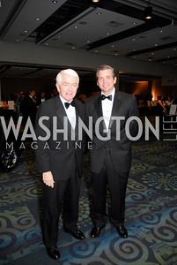 Tom Donahue, John Donahue, Lombardi Gala, November 5, 2011, Kyle Samperton