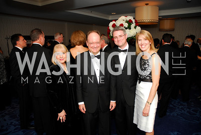 Bonnie Roberts, Jack DeGioia, Vince Lombardi, Sally Sue Lombardi, Lombardi Gala, November 5, 2011, Kyle Samperton