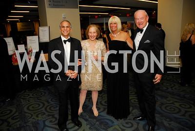 Steve Shollman, Marion Markowitz, Susan Reichardt, David Reichardt, Lombardi Gala, November 5, 2011, Kyle Samperton