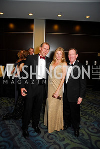 Rick Cutirera, Lisa Adams, Joe Teague, Lombardi Gala, November 5, 2011, Kyle Samperton