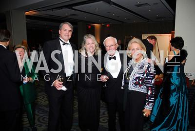 Greg Gagnon, Wendy Gagnon, John Potter, Tanya Potter, Lombardi Gala, November 5, 2011, Kyle Samperton