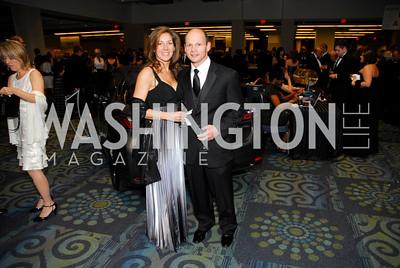 Michelle Higgins, Kevin Ponchock, Lombardi Gala, November 5, 2011, Kyle Samperton