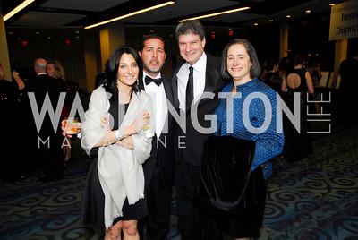 Amy Katz, Biran Katz, Scott Sterling, Susan Sterling, Lombardi Gala, November 5, 2011, Kyle Samperton
