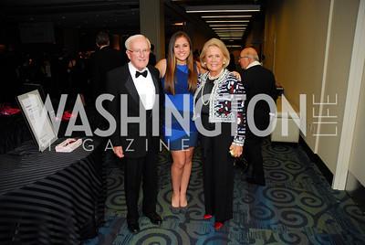 John Potter, Alexa Adler, Tanya Potter, Lombardi Gala, November 5, 2011, Kyle Samperton