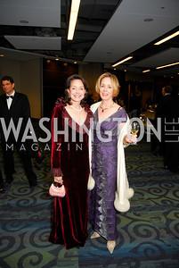 Cathy Keating, Carole Crawford, Lombardi Gala, November 5, 2011, Kyle Samperton