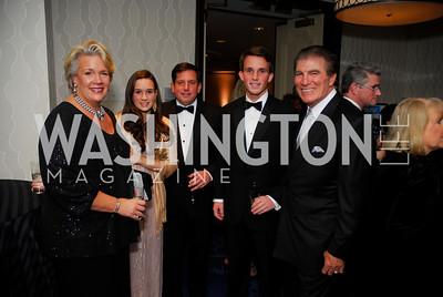 Laurie Hodges LaPeyre, Jacqueline LaPeyre, Pierre LaPeyre, Pierre LaPeyre, Vince Papale, Lombardi Gala, November 5, 2011, Kyle Samperton