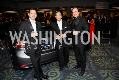 Howard Rothman, Scott Engle, Victor Seested, Lombardi Gala, November 5, 2011, Kyle Samperton
