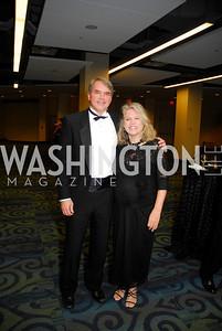 Greg Gagnon, Wendy Gagnon,  Lombardi Gala, November 5, 2011, Kyle Samperton
