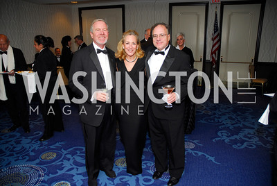 Paul Schweitzer, Tanya Adler, Howard Adler, Lombardi Gala, November 5, 2011, Kyle Samperton