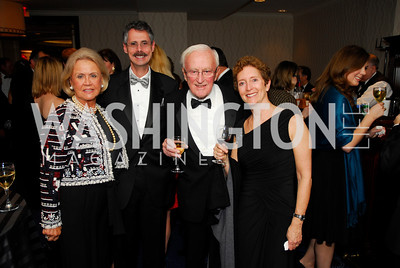 Tanya Potter, Howard Federoff, John Potter, Wendy Solovay, Lombardi Gala, November 5, 2011, Kyle Samperton