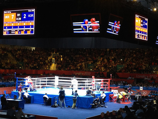 ExCel London, Olympics Day 16 - Boxing Finals